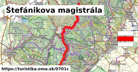 Biely kríž - Pezinská Baba