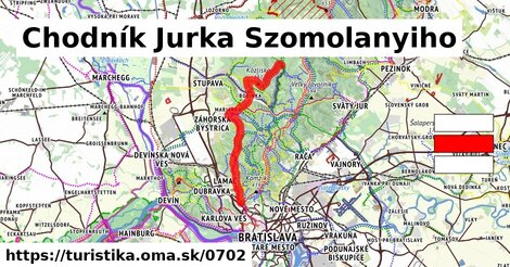 Chodník Jurka Szomolanyiho
