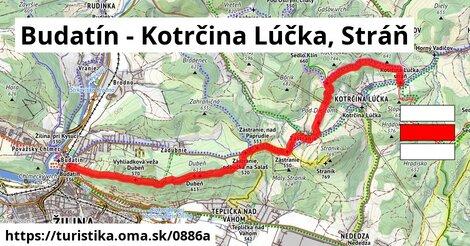 Budatín - Kotrčina Lúčka, Stráň