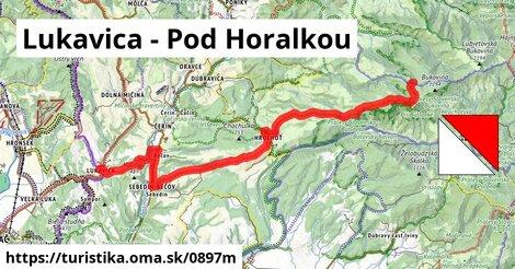 Lukavica - Pod Horalkou