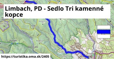 Limbach, PD - Sedlo Tri kamenné kopce