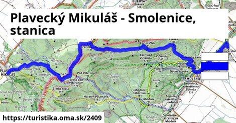 Plavecký Mikuláš - Smolenice, stanica