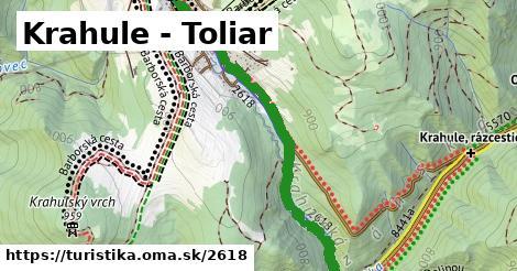 Krahule - Toliar