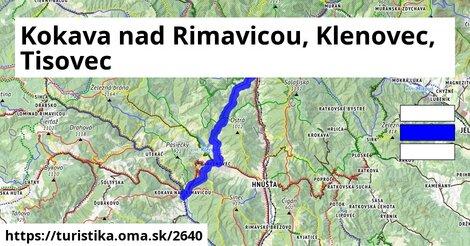 Kokava nad Rimavicou, Klenovec, Tisovec