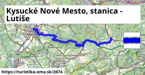 Kysucké Nové Mesto, stanica - Lutiše
