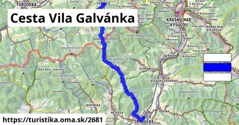Cesta Vila Galvánka