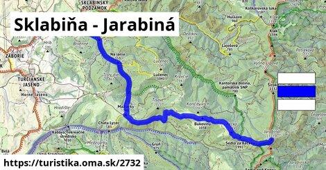 Sklabiňa - Jarabiná