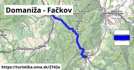 Domaniža - Fačkov