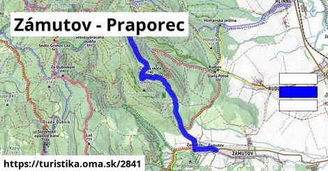 Zámutov - Praporec