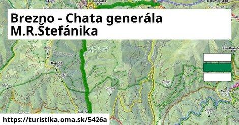 Brezno - Chata generála M.R.Štefánika