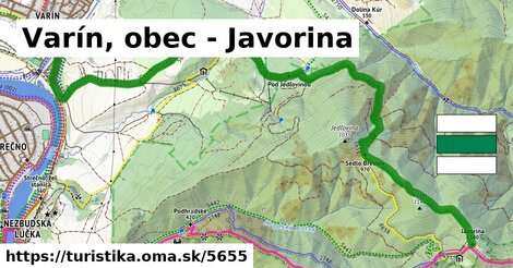 Varín, obec - Javorina