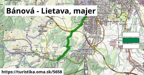 Bánová - Lietava, majer