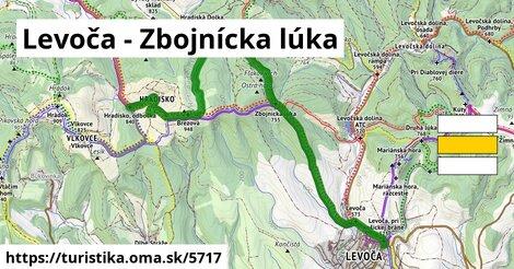 Levoča - Zbojnícka lúka