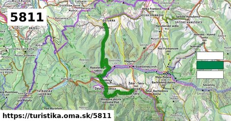 Ždiar, Tatra - Osturňa, Pod Bystrou dol.