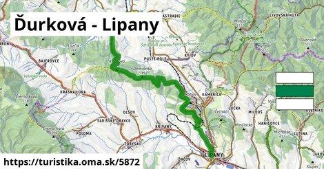 Ďurková - Lipany