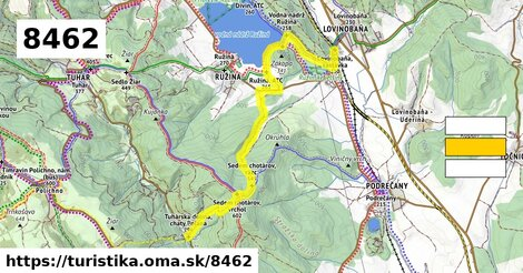 Tuhárska dolina - Ružiná, ATC - Lovinobaňa, železničná stanica