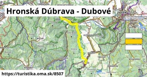 Hronská Dúbrava - Dubové