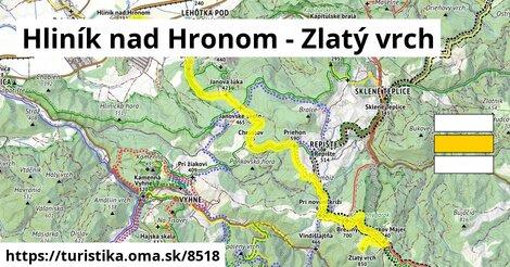 Hliník nad Hronom - Zlatý vrch