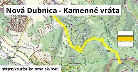 Nová Dubnica - Kamenné vráta