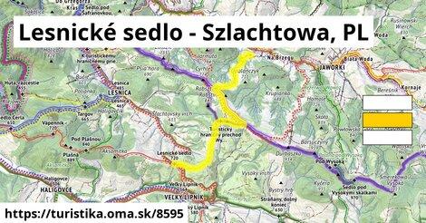Lesnické sedlo - Szlachtowa, PL