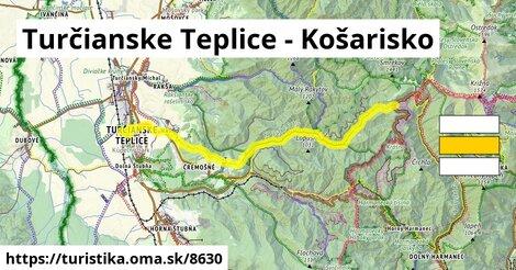Turčianske Teplice - Košarisko