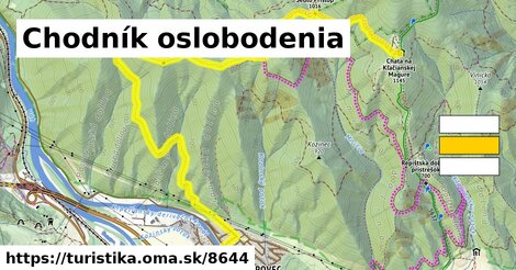 Lipovec - Chata na Kľačianskej Magure