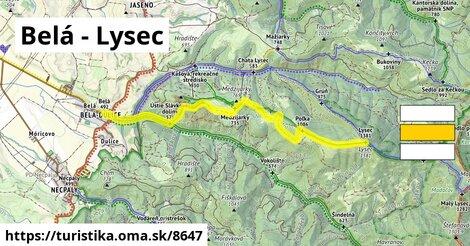 Belá - Lysec