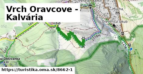 Vrch Oravcove - Kalvária