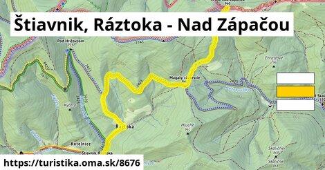 Štiavnik, Ráztoka - Nad Zápačou