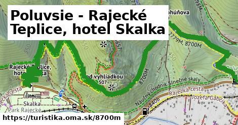 Poluvsie - Rajecké Teplice, hotel Skalka