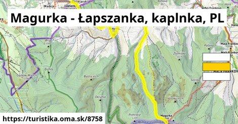 Magurka - Łapszanka, kaplnka, PL