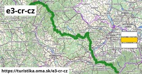 European long distance path E3 - part Czech Republic, Morava