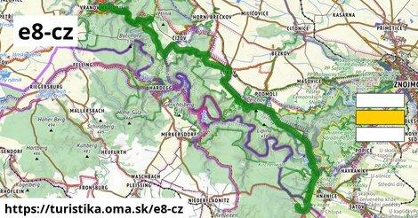 European long distance path E8 - part Czech Republic