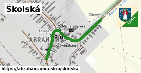 ilustrácia k Školská, Abrahám - 476m