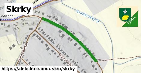 ilustrácia k Skrky, Alekšince - 373m