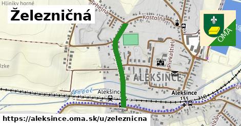 ilustrácia k Železničná, Alekšince - 539m
