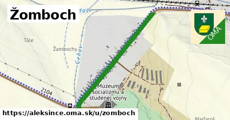ilustrácia k Žomboch, Alekšince - 0,79km