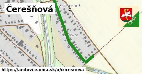 ilustrácia k Čerešňová, Andovce - 435m