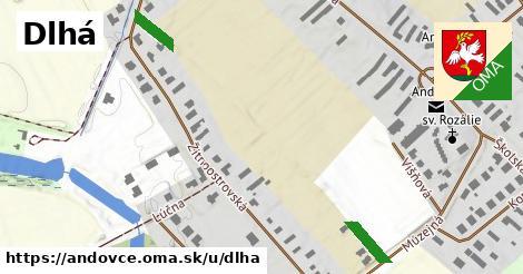 ilustrácia k Dlhá, Andovce - 153m