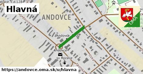 ilustrácia k Hlavná, Andovce - 166m