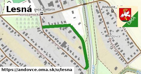 ilustrácia k Lesná, Andovce - 417m