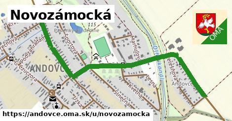 ilustračný obrázok k Novozámocká, Andovce