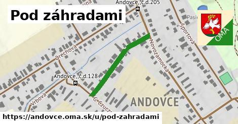 ilustrácia k Pod záhradami, Andovce - 268m