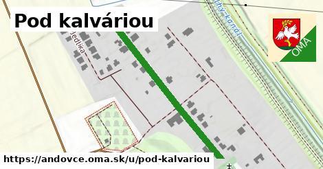 ilustrácia k Pod kalváriou, Andovce - 438m