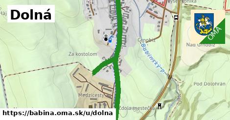 ilustračný obrázok k Dolná, Babiná