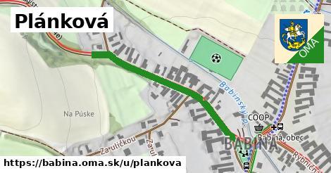 ilustrácia k Plánkova, Babiná - 388m