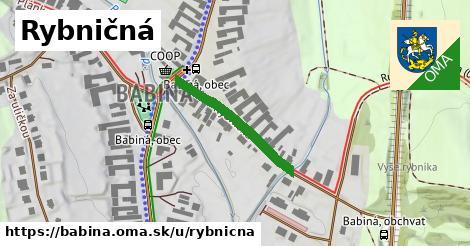 ilustrácia k Rybničná, Babiná - 237m