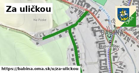 ilustrácia k Za uličkou, Babiná - 381m