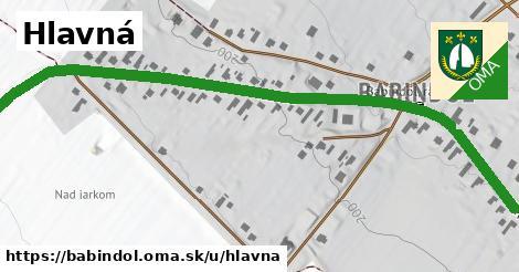 ilustrácia k Hlavná, Babindol - 1,26km