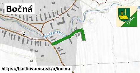 ilustrácia k Bočná, Bačkov - 238m